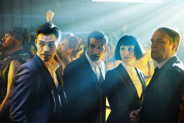 Incorporated TV show on Syfy: season 1 premiere (canceled or renewed?).