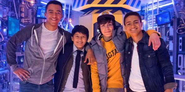 MECH-X4 TV show on Disney XD