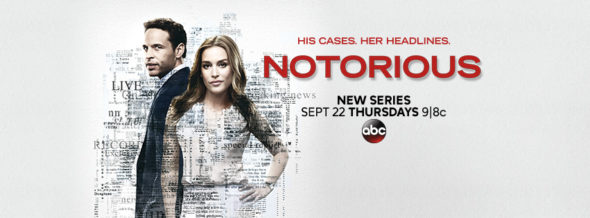 Notorious TV show on ABC: ratings (cancel or season two?)