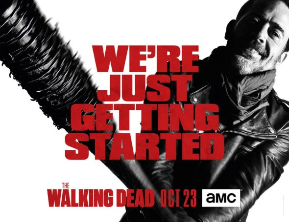 The Walking Dead TV show on AMC: season 8 renewal.