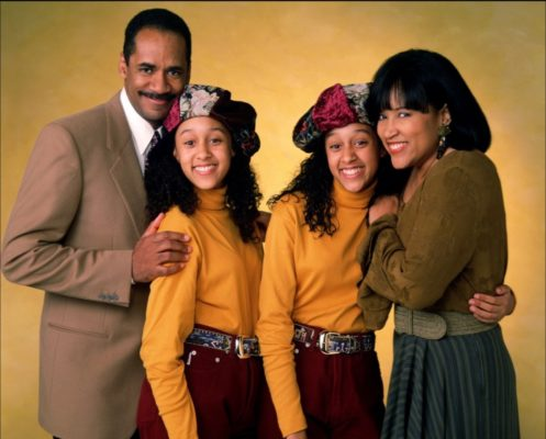 Sister Sister TV show on The WB