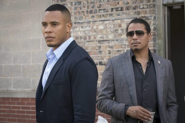 "EMPIRE: Pictured L-R: Trai Byers and Terrence Howard in the ""Cupid Kills"" episode of EMPIRE airing Wednesday, Oct. 12 (9:00-10:00 PM ET/PT) on FOX. ©2016 Fox Broadcasting Co. CR: Chuck Hodes/FOX"