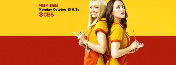 2 Broke Girls TV show on CBS: ratings (cancel or season 7?)