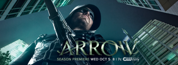 Arrow TV show on CW: ratings (cancel or season 6?)