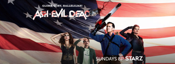 Ash Vs Evil Dead TV show on Starz: ratings (cancel or season 3?)