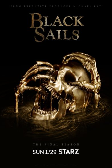 Black Sails TV show on Starz: season 4 (canceled or renewed?)