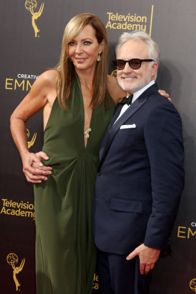 Bradley Whitford to guest star in Mom TV show on CBS: season 4 (canceled or renewed?) West Wing Reunion Allison Janney Bradley Whitford.