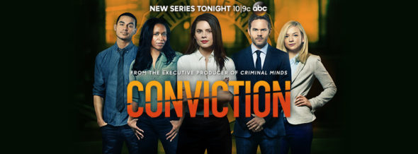 Conviction TV show on ABC: ratings (cancel or season 2?)