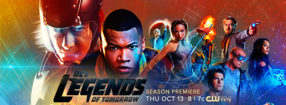 DC's Legends of Tomorrow TV show on CW: ratings (cancel or season 3?)