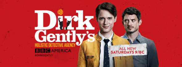Dirk Gently's Holistic Detective Agency TV show on BBC America: ratings (cancel or season 2?)