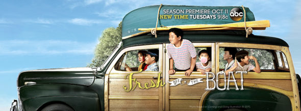 Fresh Off the Boat TV show on ABC: ratings (cancel or season four?)