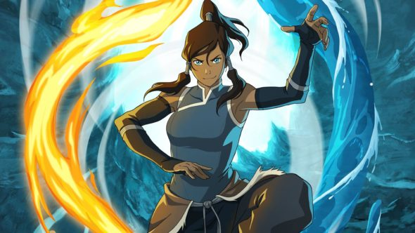 The Legend of Korra TV show on Nickelodeon