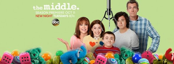 The Middle TV show on ABC: ratings (cancel or season 9?)