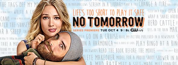 No Tomorrow TV show on CW: ratings (cancel or season 2?)