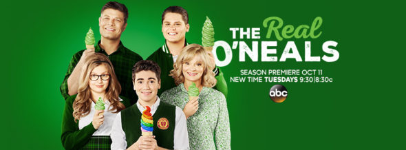 The Real O'Neals TV show on ABC: ratings (cancel or season 3?)