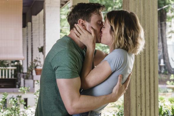 Halt and Catch Fire TV show on AMC: season 4 renewal. Halt and Catch Fire canceled, no season 5.