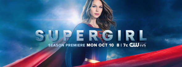 Supergirl TV show on CW: ratings (cancel or season 3?)