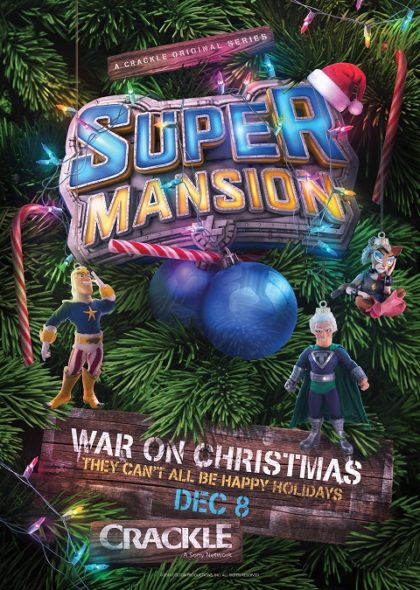 SuperMansion TV show on Crackle: season 2 (canceled or renewed?)