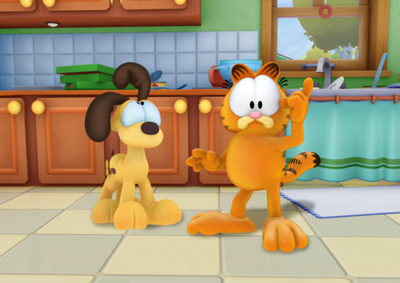 The Garfield Show TV show on Boomerang