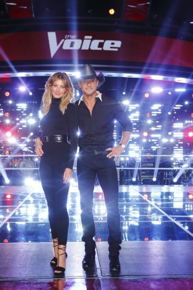Faith Hill, Tim McGraw join The Voice TV show on NBC: season 11 (canceled or renewed?)