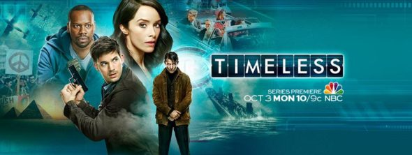 Timeless TV show on NBC: ratings (cancel or season 2?)