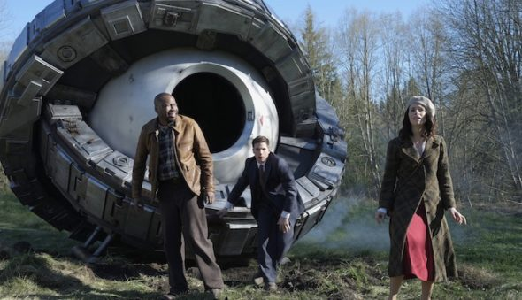 Timeless TV show on NBC (canceled or renewed?)