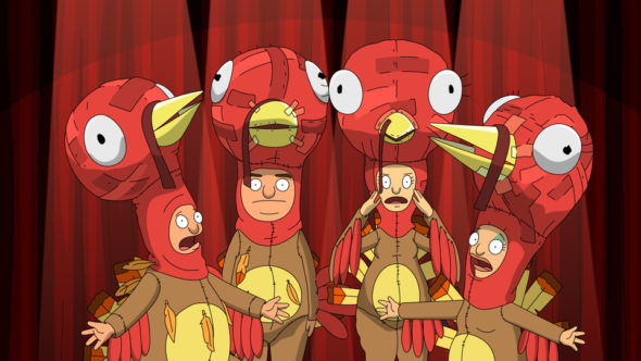 "BOB'S BURGERS: The Belcher kids work on their own version of the school's Thanksgiving play in the ""The Quirkducers"" episode of BOBÕS BURGERS airing Sunday, Nov. 20 (7:30-8:00 PM ET/PT) on FOX. BOB'S BURGERS ª and © 2016 TCFFC ALL RIGHTS RESERVED. CR: FOX"