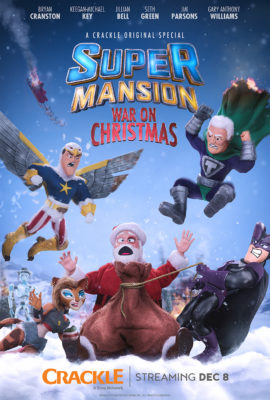 SuperMansion TV show on Crackle
