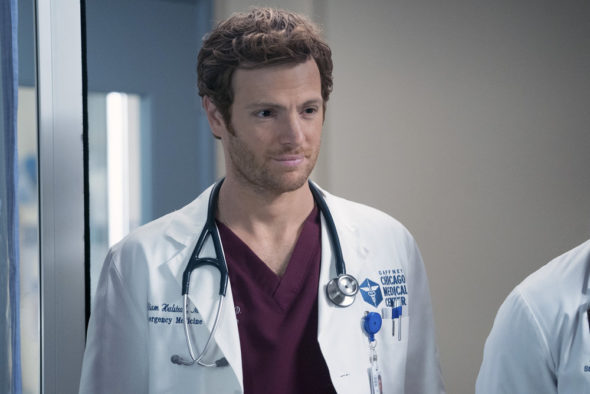 "CHICAGO MED -- ""Free Will"" Episode 208 -- Pictured: Nick Gehlfuss as Will Halstead -- (Photo by: Elizabeth Sisson/NBC)"