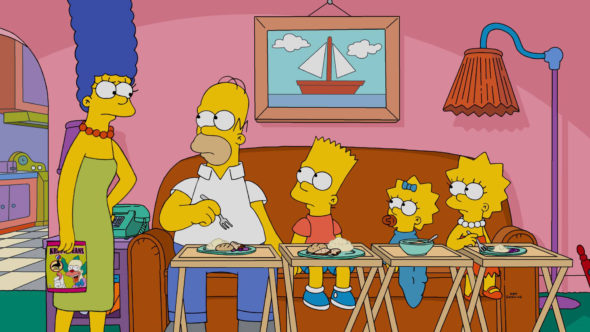 The Simpsons renewed for seasons 29 and 30 on FOX (canceled or renewed?)