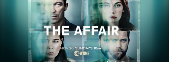 The Affair TV show on Showtime: ratings (cancel or season 4?)