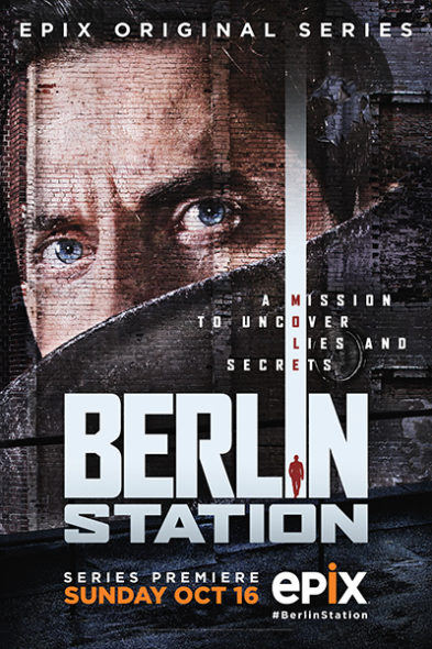 Berlin Station renewed for season two on Epix. Berlin Station TV show on Epix: season 2 renewal (canceled or renewed?)
