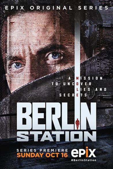 Berlin Station renewed for season two on Epix. Berlin Station TV show on Epix: season 2 renewal (canceled or renewed?)