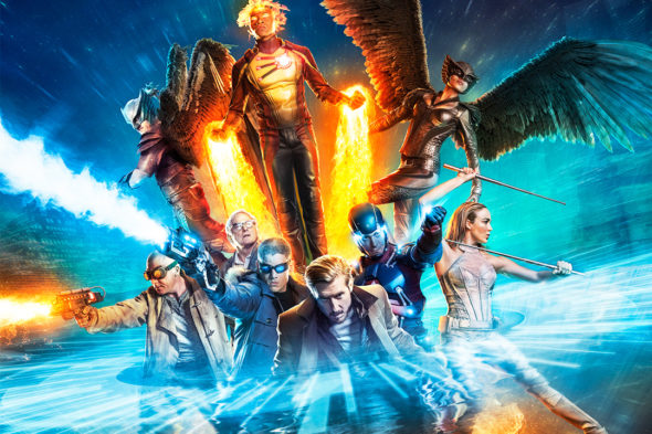 DC's Legends of Tomorrow TV show on CW