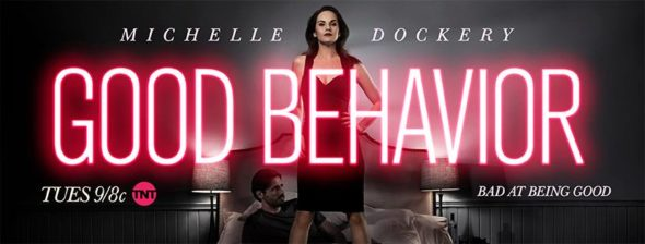 Good Behavior TV show on TNT: ratings (cancel or season 2?)