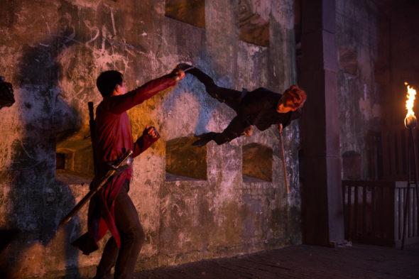 Into the Badlands TV show on AMC: season 2 trailer (canceled or renewed?)