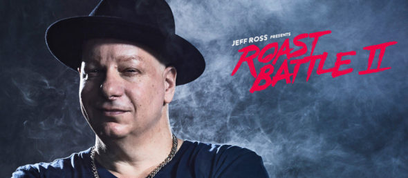 Jeff Ross Presents Roast Battle TV show on Comedy Central: season 2 (canceled or renewed?)