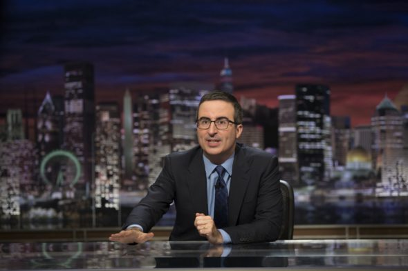Last Week Tonight with John Oliver TV show on HBO: season 4 (canceled or renewed?)