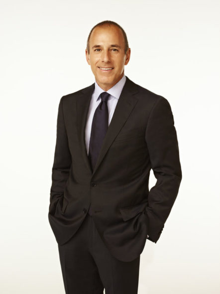 Matt Lauer renews Today Show contract through 2018. The Today Show on NBC: canceled or renewed?