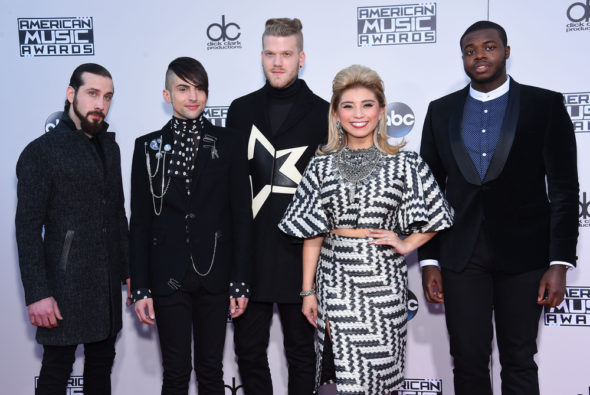 A Pentatonix Christmas Special TV show on NBC: canceled or renewed? The Sing-Off TV show on NBC: canceled, no season 6.