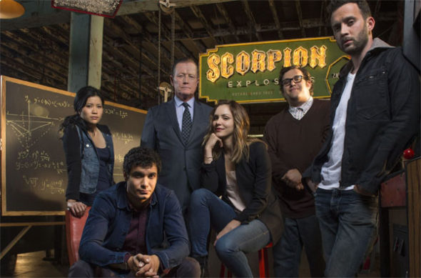 Scorpion TV show on CBS: canceled or season 4?