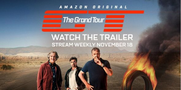 The Grand Tour TV show on Amazon Prime: season 1 (canceled or renewed?) The Grand Tour TV series ratings Amazon.