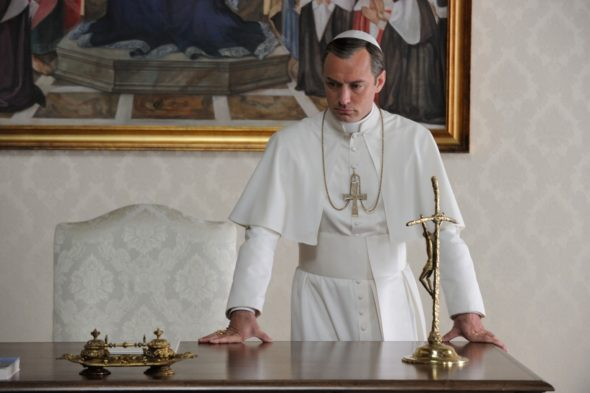 The Young Pope TV show on HBO: season 1 (canceled or renewed?)
