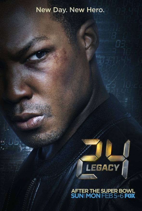 24: Legacy: FOX Releases Key Art Poster - canceled TV shows