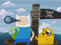 Adventure Time TV show on Cartoon Network