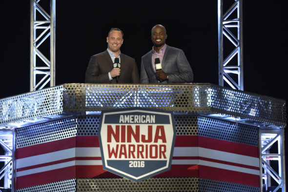 American Ninja Warrior TV show on NBC: season 6 (canceled or renewed?) American Ninja Warrior TV show on Esquire Network: season 9 (canceled or renewed?) American Ninja Warrior TV show on NBC and Esquire Network: season 9 (canceled or renewed?)