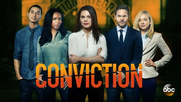 Conviction TV show on ABC: canceled, no season 2