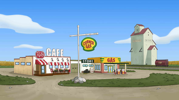 Corner Gas TV show on The Comedy Network: season 1 (canceled or renewed?) Corner Gas TV show being revived as animated TV series: season 1 (canceled or renewed?)