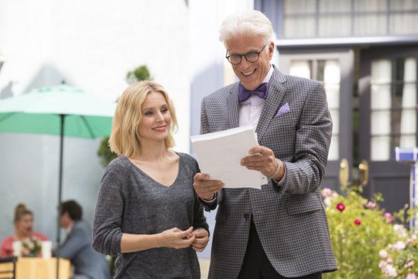 The Good Place TV show on NBC: season 2 (canceled or renewed?)