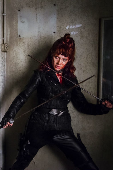 Into the Badlands TV show on AMC: season 2 (canceled or renewed?)